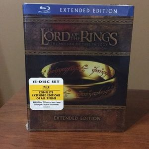New Lord of the Rings Blu-ray Extended Ed. Box Set